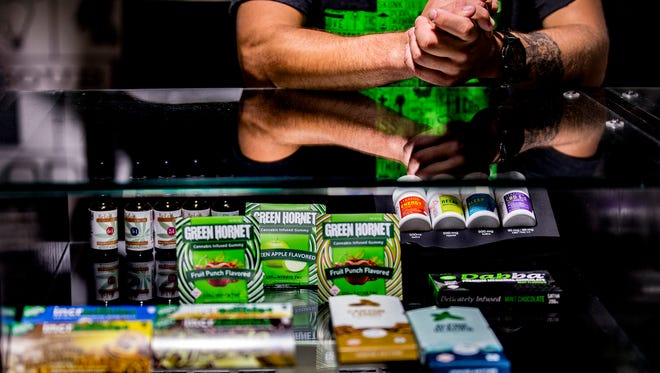 Native Roots Dispensary stocks everything cannabis from medicinal cremes to taffy in Denver.