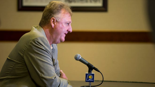 In a healing year for the Pacers, Larry Bird still aims for the playoffs.