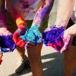 The St. Theresa School in Palm Springs is hosting a color run Saturday.