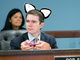 Corporation Commissioner Bob Stump: Hello Kitty Text