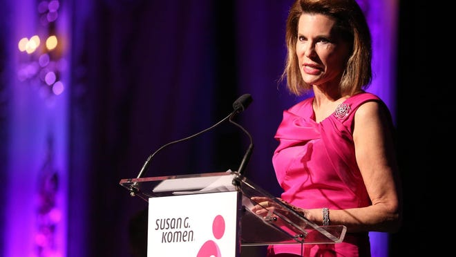 In 2009, Nancy Brinker looks at her mother, Eleanor Goodman, as President Barack Obama awards her the Presidential Medal of Freedom.  The Susan G. Komen founder has been named to USA Today's Florida Women of the Century, a project commemorating 100 years of women's right to vote.