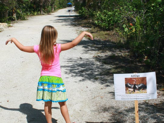 "Complete the Animal Olympics challenge on Indigo Trail to become eligible for a prize drawing during National Trails Day festivities at J.N. ""Ding"" Darling National Wildlife Center"
