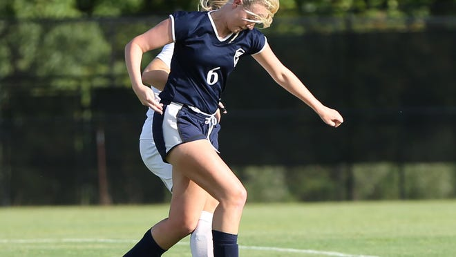 Madison's Brittany Bray scored 22 goals for the Lady Mustangs last season.