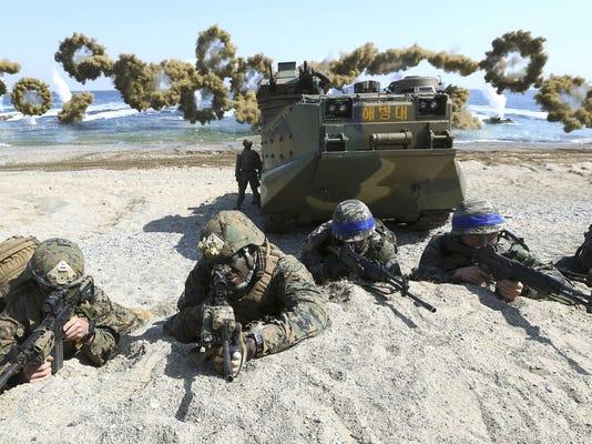 United States Korea Military Exercises