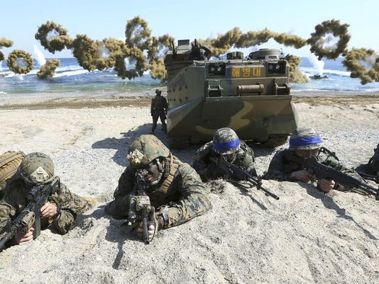 United States Korea Military Exercises