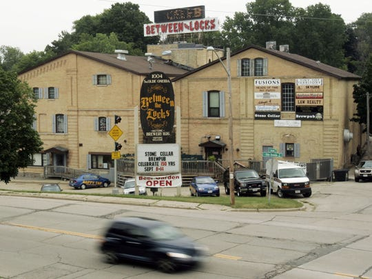 Stone Cellar Brewpub is now called Stone Arch Brewpub in the Between the Locks building in Appleton.