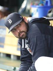 Michael Fulmer was an All-Star in 2017, his second season in the majors. He is 21-19 with a 3.45 ERA in 51 starts with the Tigers.