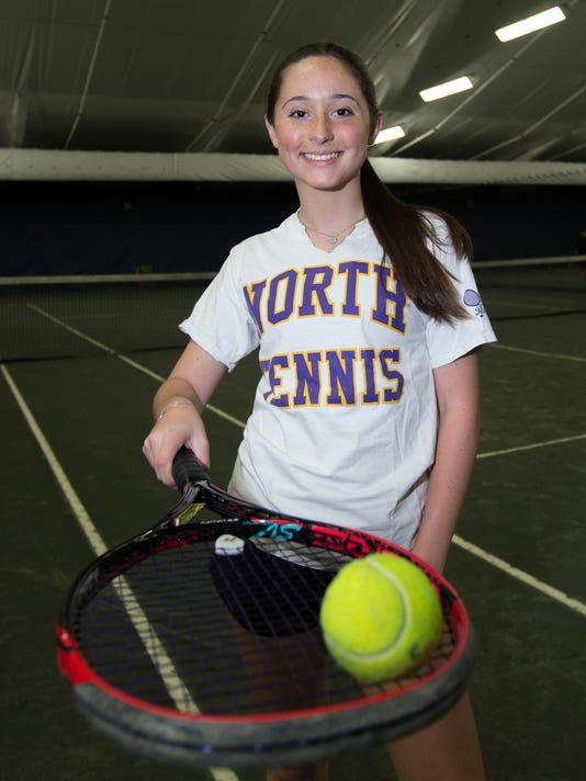 Sydney Miller, Rockland Tennis POY