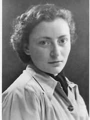 Irmgard Muller's visa photo in 1939.
