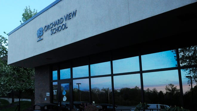 The entrance to Orchard View Alternative High School in Wappinger.
