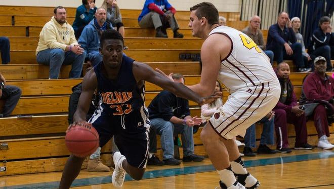 Brooks Parker is a senior on the Delmar basketball team.