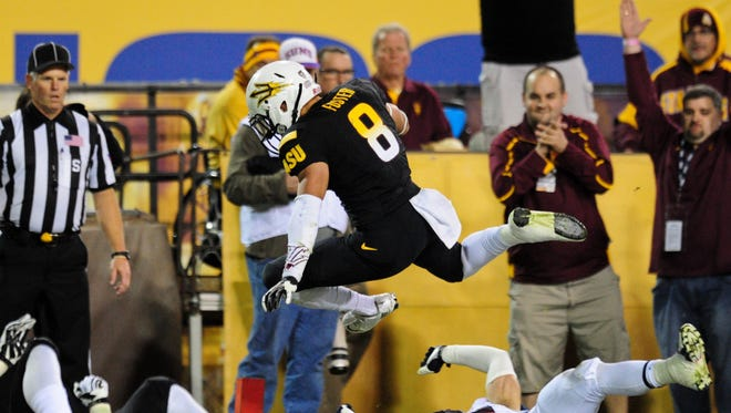 Arizona State played without injured rushing star Marion Grice in the 2013 Territorial Cup, but all that did was open up the stage for sophomore D.J. Foster.