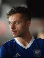 Reno 1868's Jerry van Ewijk during Media Day at ‎Greater