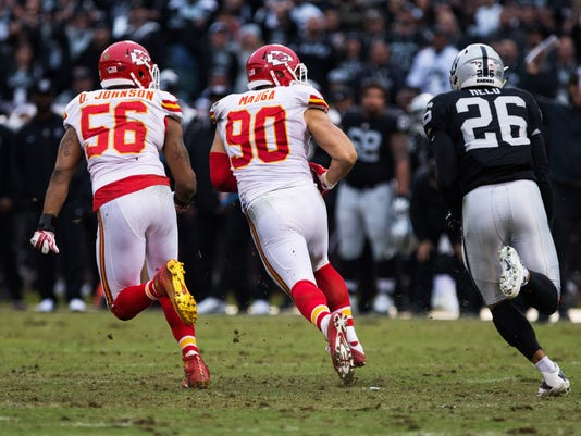 NFL: Kansas City Chiefs at Oakland Raiders