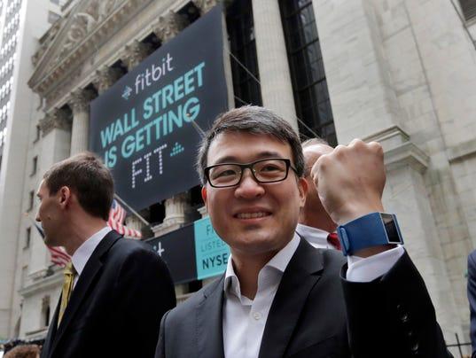 AP FINANCIAL MARKETS WALL STREET FITBIT IPO F USA NY