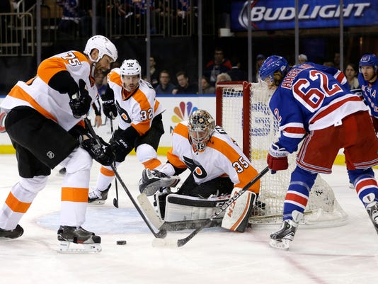 Flyers Rangers Hockey