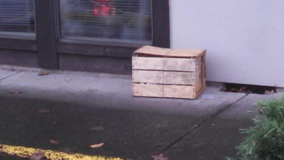 Police are investigating a suspicious package in northeast Salem