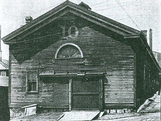 Sheboygan's first church, the Congregational, once