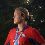 Abby Wambach: Smashes Mia Hamm's record