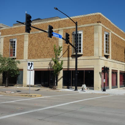 The Schauer & Schumacher buildings at East Walnut and