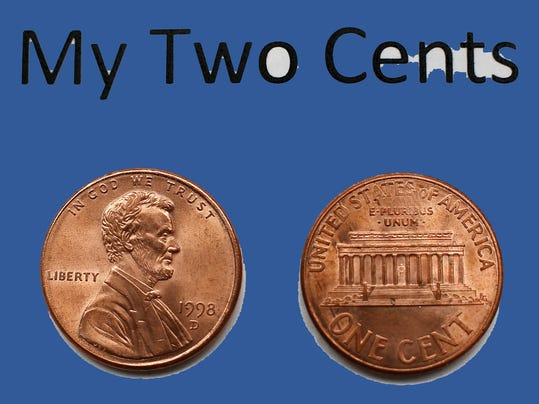my two cents color