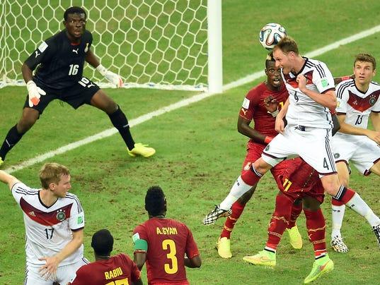 World Cup 2014 Germany vs. Ghana