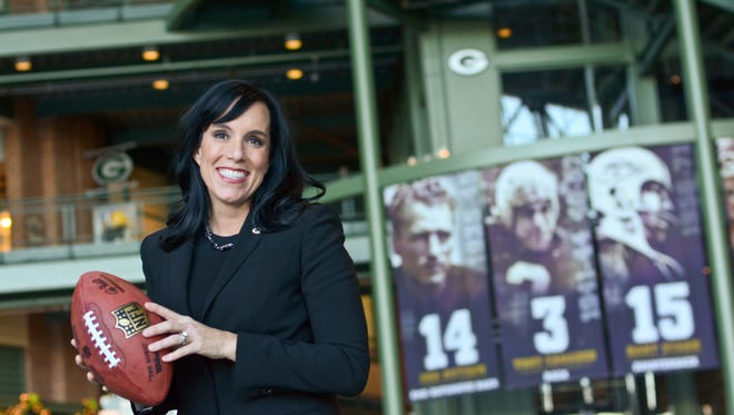 Gabrielle Valdez Dow is vice president of marketing and fan engagement for the Green Bay Packers.