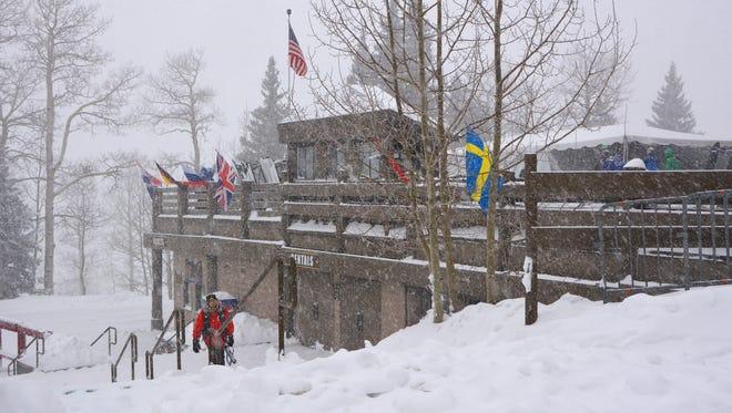 A spokesman from the Arizona Snowbowl ski resort near Flagstaff said staff woke up to 18 inches of fresh snow on the morning of Monday, Feb. 23.