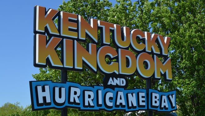 Kentucky Kingdom is open for preview weekends.