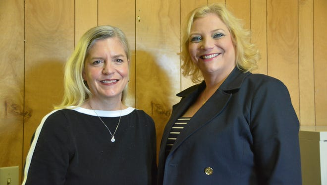 Guidance Center therapist Michele Daniel, left, and director Kim Rush have partnered with Fairview schools to provide free therapy sessions.