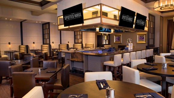 The Spotted Horse Tavern & Dining Parlor inside of Evangeline Downs Racetrack & Casino opened recently.