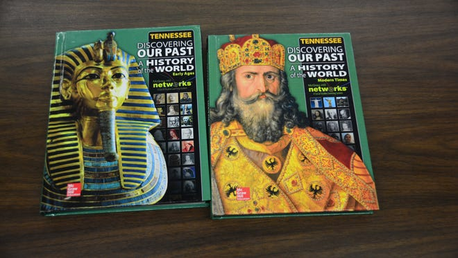 Tennessee sixth- and seventh-graders use these books in their social studies classes.