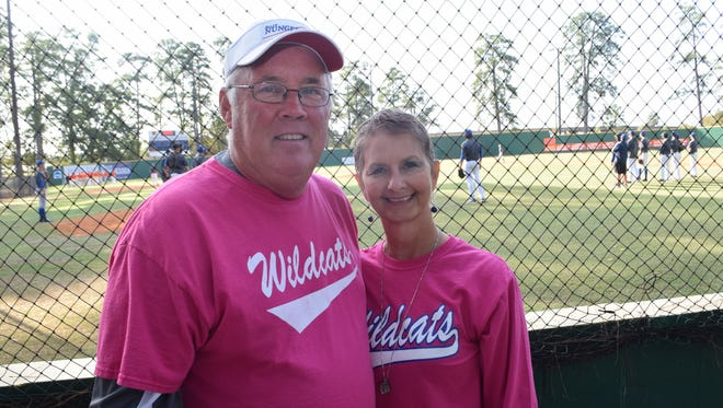 Colynda Byrnes, the wife of Louisiana College baseball coach Mike Byrnes, was diagnosed with cancer nearly a year ago..