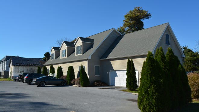 This building on Hebron Road in West Rehoboth is the site of a proposed homeless shelter.