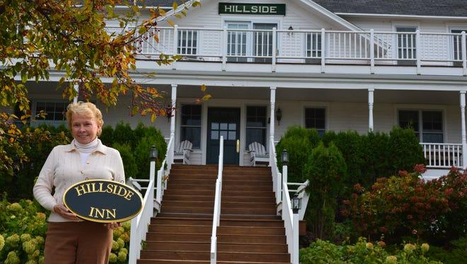 Diane Tallion, new operator of the Hillside Inn, announces the Inn is to reopen in February.