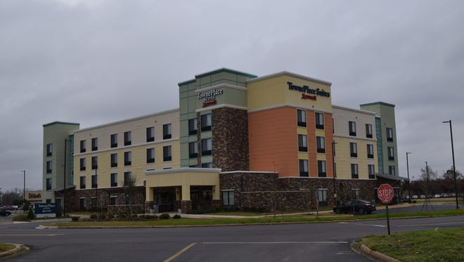 TownePlace Suites by Marriot, located at 3810 Alexandria Mall Drive, just opened.