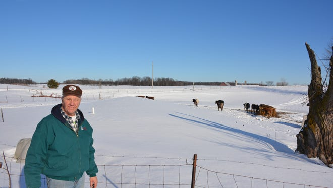 With organic milk at nearly triple the price of conventional milk, Ken Kinstetter is happy he made the decision to be certified as an organic dairy.