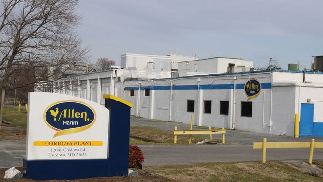 Allen Harim plans to shutter its processing facility in Cordova, Maryland, and move those operations to Delaware.