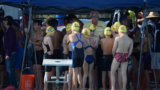 Members of the ATAC swim team.