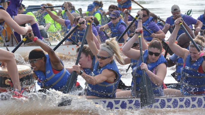 """Organizers say there is """"contingency plan"""" for the Louisiana Dragon Boat Races, which are scheduled for May 7 on the Red River in Alexandria."""