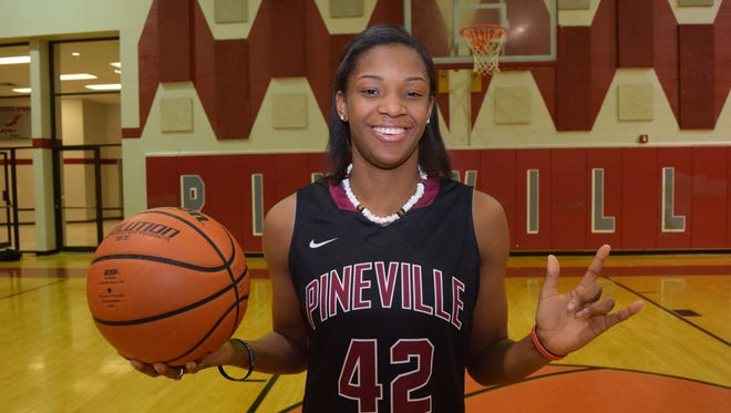 Pineville's Danyale Bayonne has been chosen as All-Cenla MVP.
