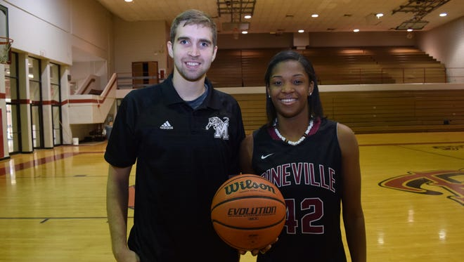 Montgomery's Phillip George has been chosen as All-Cenla Coach of the Year and Pineville's Danyale Bayonne has been chosen as All-Cenla MVP.