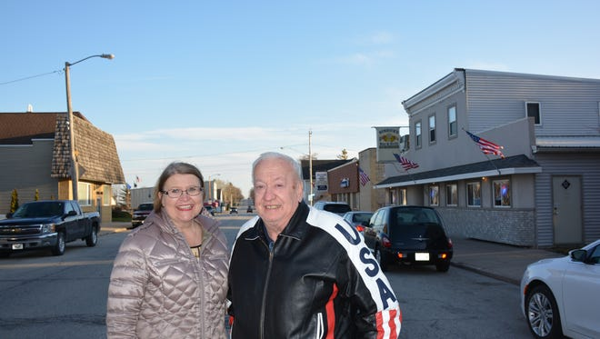 Ann Kulhanek, president, Luxemburg Area Chamber of Commerce, and Ken Tebon, president, Village of Luxemburg,   are optimistic about the Main Street Enhancement project, which will begin this summer.