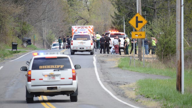 A 4-year-old girl was killed Sunday afternoon in a crash on East Maine Road in the Town of Union.