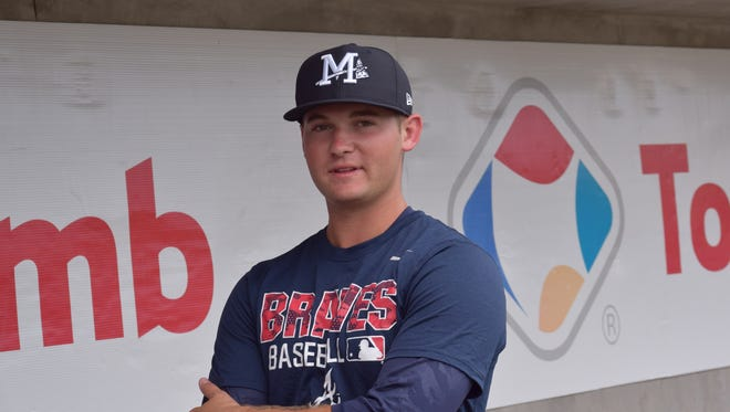 Stephen Moore became the highest MLB draft pick in history from the U.S. Naval Academy when the Atlanta Braves chose him in the 10th round in 2015 draft.