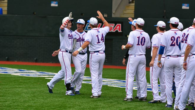 Third baseman Chase Lunceford hit his team-leading eighth home run of the year Thursday to pace Louisiana Tech's win over No. 15 Rice.