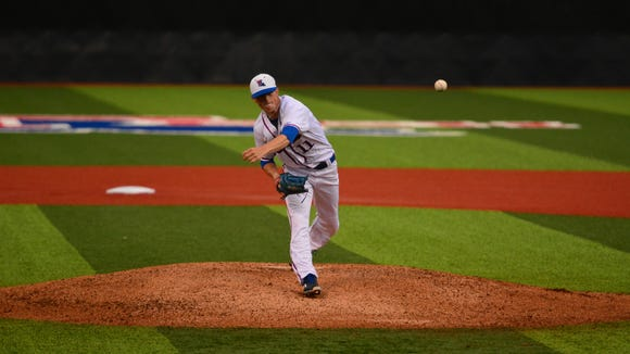 Louisiana Tech pitcher Phillip Diehl tossed seven innings of one-run ball to beat Rice on Thursday.