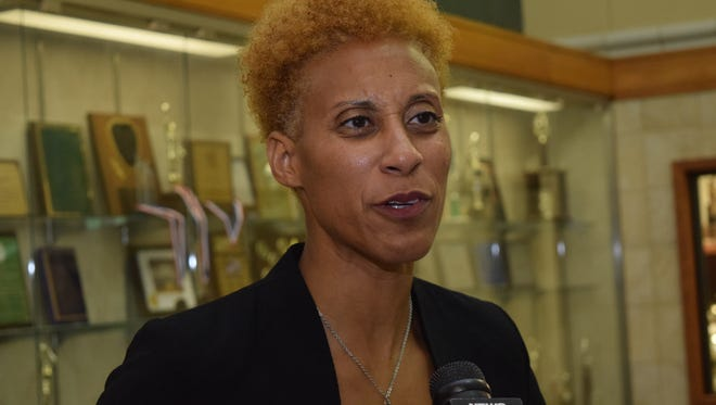Marjorie Cotton was announced as the new Peabody Magnet High School girls' basketball coach.