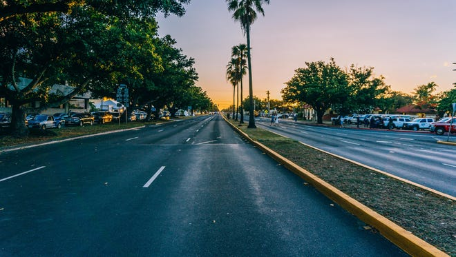 Cedrick Tagulao shares a photo of Marine Drive in Hagatna, the site of the Liberation Day Parade, on a rare occasion when it was virtually empty.