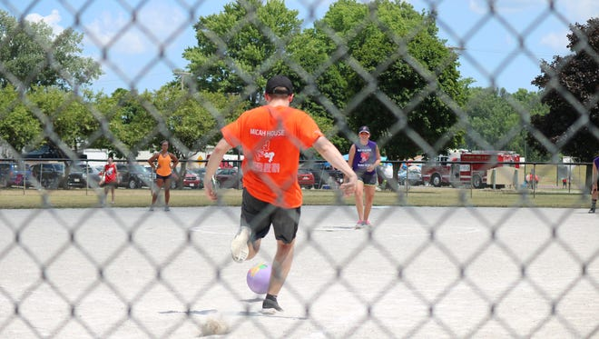 The community came together for Kick The Habit,  a day-long event that featured kickball and basketball tournaments, food, music and education on drug addiction and recovery, at Roger Young Park on Saturday.